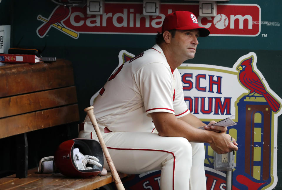 Mike Matheny was fired by the Cardinals amid a turbulent season. (AP Photo)