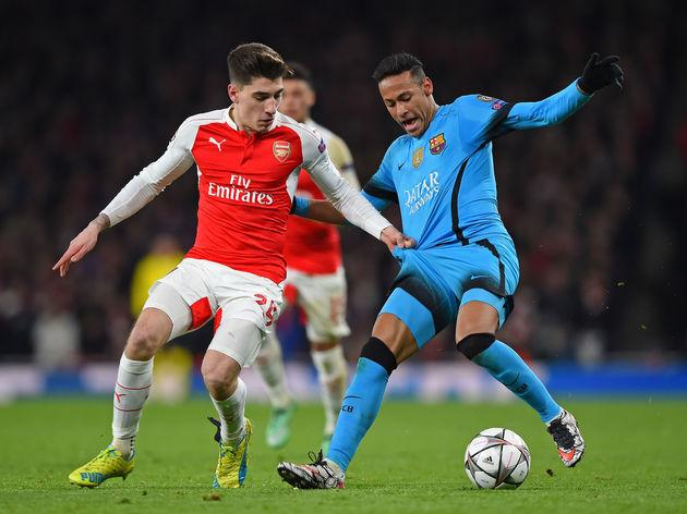 d287ac13668 Arsenal FC v FC Barcelona - UEFA Champions League Round of 16  First Leg