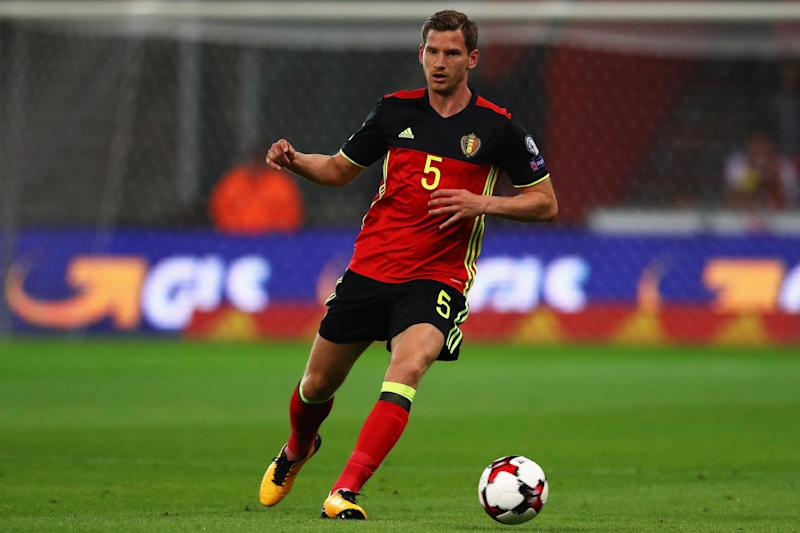 Injury boost: Vertonghen has overcome his ankle problems: Getty Images