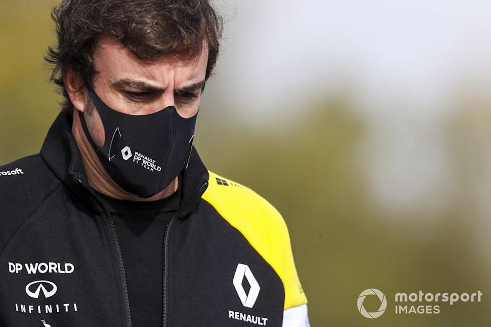 "Fernando Alonso, Renault F1 Team<span class=""copyright"">Charles Coates / Motorsport Images</span>"