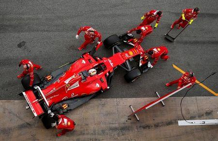 FILE PHOTO: Formula One - F1 - Test session