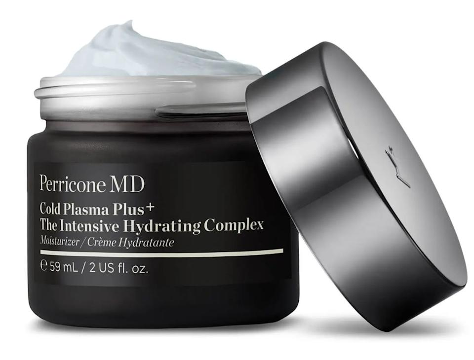 "This moisturizer is a great skin multitasker: it helps smooth, hydrate and even skin tone at the same time. <br /><br /><strong>Promising review:</strong> ""Not I falling in love with a $179 moisturizer... Ok, listen, it's pricey and I will be upfront about it. But heavens, this has been the thing to solve my dry skin. I just moved to Colorado and the cold, dry air has sucked every ounce of moisture from my face. Not even my serums and full skincare routine could prevent the patches of dry skin from reappearing, forcing my makeup to flake off my face like a snake. I will say it's on the heavier side, so I like using it before I go to sleep so it can really soak into my skin while I sleep, instead of applying in the morning."" — <a href=""https://www.buzzfeed.com/kaylasuazo"" target=""_blank"" rel=""noopener noreferrer"">Kayla Suazo</a><br /><br /><strong>Get it from Perricone MD for <a href=""https://go.skimresources.com?id=38395X987171&xs=1&url=https%3A%2F%2Fwww.perriconemd.com%2Fcold-plasma-plus-the-intensive-hydrating-complex%2F12795548.html&xcust=HPMagicBeauty6091b722e4b04620270cedda"" target=""_blank"" rel=""noopener noreferrer"">$179</a>. </strong>"