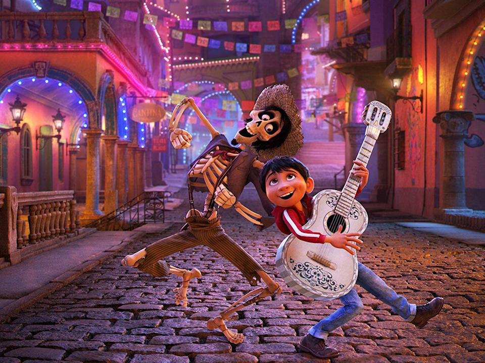 Pixar's films dealt with often dark subjects such as death in 'Coco'(2017) in a breezy and captivating way