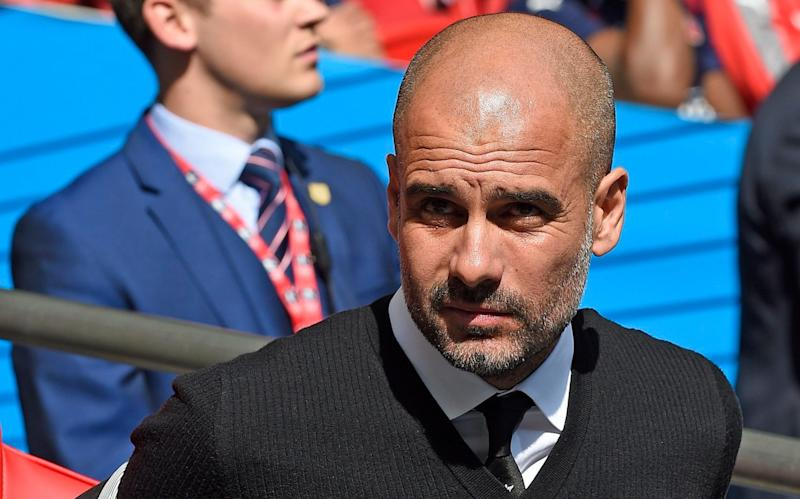 Pep Guardiola is facing his first trophyless season as a manager - EPA