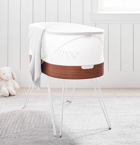 "<h3>SNOO Smart Sleeper Bassinet By Happiest Baby</h3> <br>The rème de la crème of new mom gifts has to be the <a href=""https://www.potterybarnkids.com/m/products/snoo-smart-sleeper-bassinet/"" rel=""nofollow noopener"" target=""_blank"" data-ylk=""slk:SNOO Sleeper"" class=""link rapid-noclick-resp"">SNOO Sleeper</a> for a whopping — yes, you read that correctly — $1295. Grab the whole fam, plus perhaps a few friends and go in together on this gold standard of smart sleepers (the mommy blogs all swear it puts the babes to sleep like a charm) or rent the SNOO as a gift for <a href=""https://www.happiestbaby.com/products/snoo-rental"" rel=""nofollow noopener"" target=""_blank"" data-ylk=""slk:$118 a month via Happiest Baby"" class=""link rapid-noclick-resp"">$118 a month via Happiest Baby</a>.<br><br><strong>Snoo</strong> Smart Sleeper Bassinet By Happiest Baby, $, available at <a href=""https://go.skimresources.com/?id=30283X879131&url=https%3A%2F%2Fwww.potterybarnkids.com%2Fproducts%2Fsnoo-smart-sleeper-bassinet%2F"" rel=""nofollow noopener"" target=""_blank"" data-ylk=""slk:Pottery Barn Kids"" class=""link rapid-noclick-resp"">Pottery Barn Kids</a><br>"