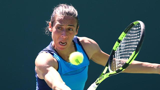 A place in the French Open remains a possibility for the retiring Francesca Schiavone, who clinched the Claro Open Colsanitas title.