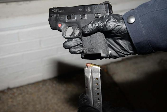IMAGE: Weapon found in Lonnie Coffman's truck (U.S. Capitol Police)