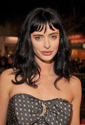 """Premiere: <a href=""""/movie/contributor/1808532777"""">Krysten Ritter</a> at the Los Angeles premiere of 20th Century Fox's <a href=""""/movie/1809868432/info"""">27 Dresses</a> - 01/07/2008<br>Photo: <a href=""""http://www.wireimage.com/"""">Lester Cohen, WireImage.com</a>"""