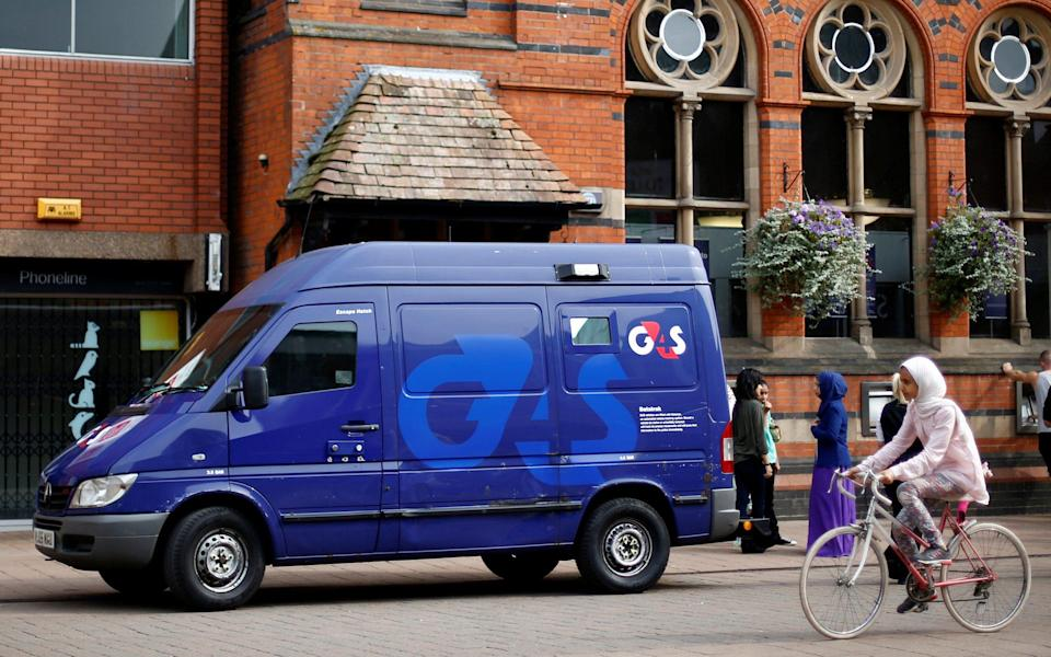 G4S is the subject of a 190p-per-share bid from GardaWorld