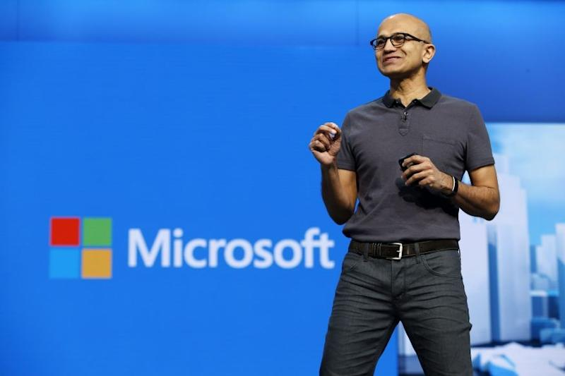 Microsoft CEO Satya Nadella has tried to defuse the row with staff: Reuters