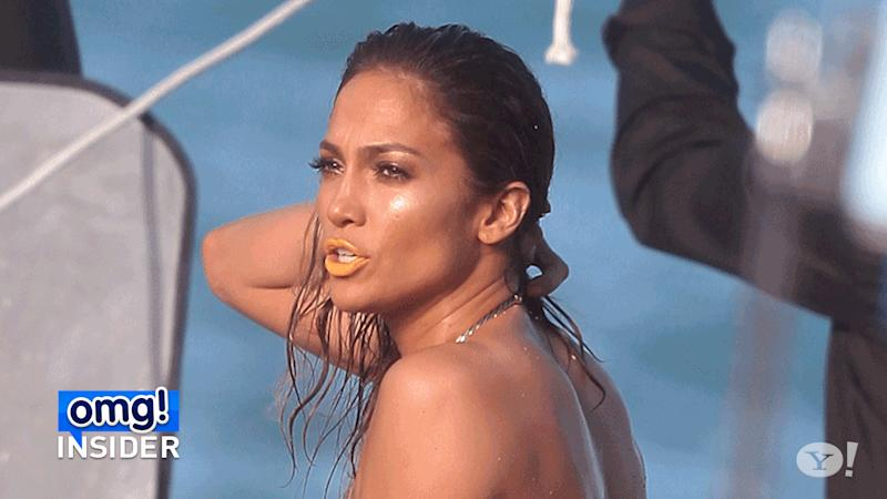 Jennifer Lopez Turns Heads In Nude Swimsuit For New Music Video-5608