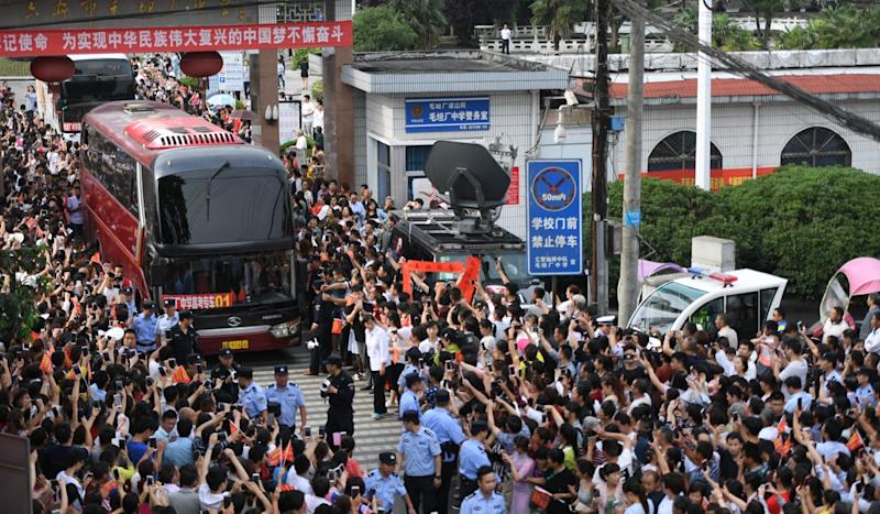 Fake fingerprints and electronic erasers: how China's innovative cheats tap hi-tech to beat the gaokao and other exams