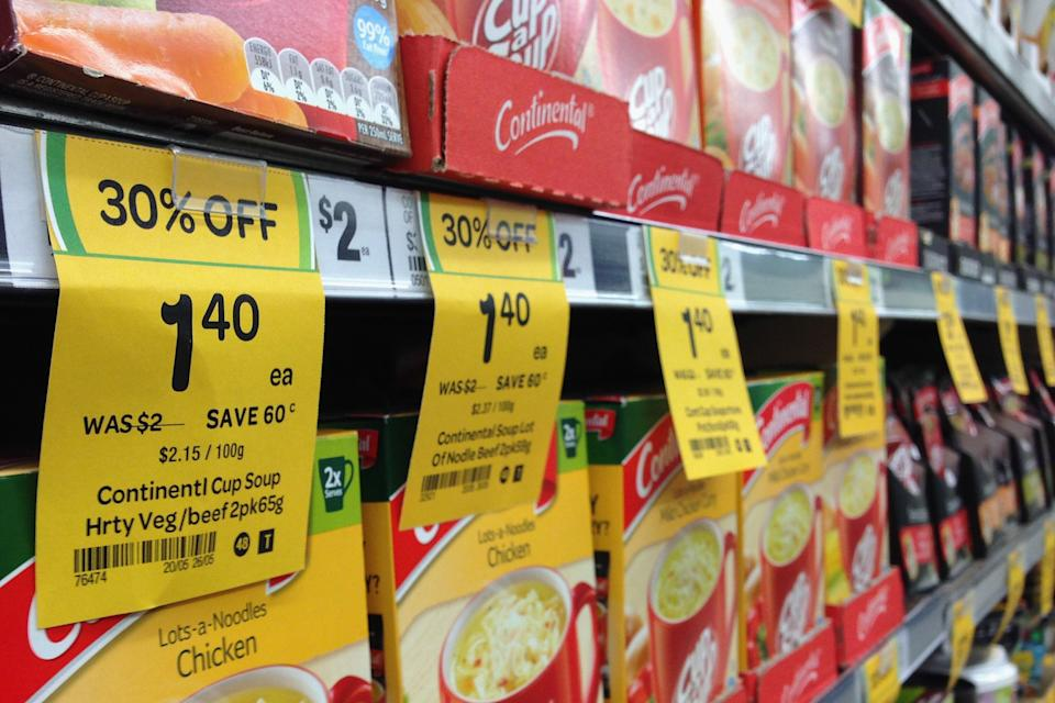Coles and Woolworths offer discount prices  daily
