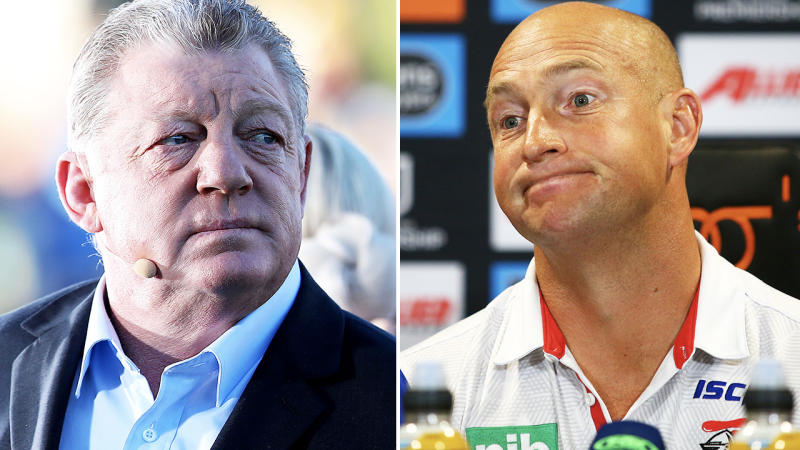 Phil Gould and Nathan Brown, pictured here in 2019.