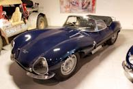 <p>The voluptuous XKSS was the road-going variant of the Jaguar D-Type racer. A factory fire destroyed nine of the 25 examples made before they were ever delivered.</p>