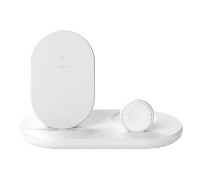 Belkin Boost Charge Qi 3-in-1 wireless charging station for Apple devices - Best Buy canada