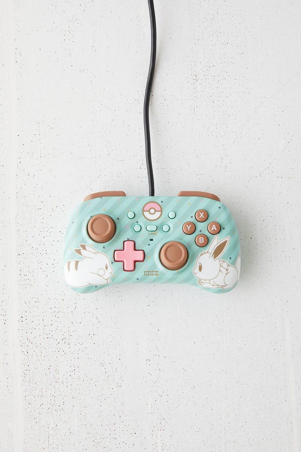 """<p><strong>Hori</strong></p><p>urbanoutfitters.com</p><p><strong>$24.95</strong></p><p><a href=""""https://go.redirectingat.com?id=74968X1596630&url=https%3A%2F%2Fwww.urbanoutfitters.com%2Fshop%2Fhori-nintendo-switch-mini-horipad-controller&sref=https%3A%2F%2Fwww.seventeen.com%2Flove%2Fdating-advice%2Fadvice%2Fg1357%2Fvalentines-day-gift-guide-for-your-girls%2F"""" rel=""""nofollow noopener"""" target=""""_blank"""" data-ylk=""""slk:Shop Now"""" class=""""link rapid-noclick-resp"""">Shop Now</a></p>"""