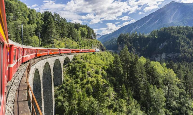 Switzerland's Glacier Express is running a reduced service this year.