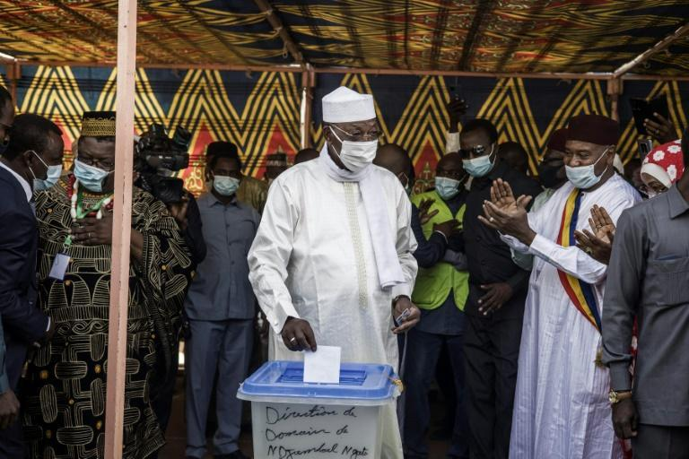 Chadian President Idriss Deby Itno is the frontrunner in a six-candidate race without major rivals after a campaign in which demonstrations were banned or dispersed