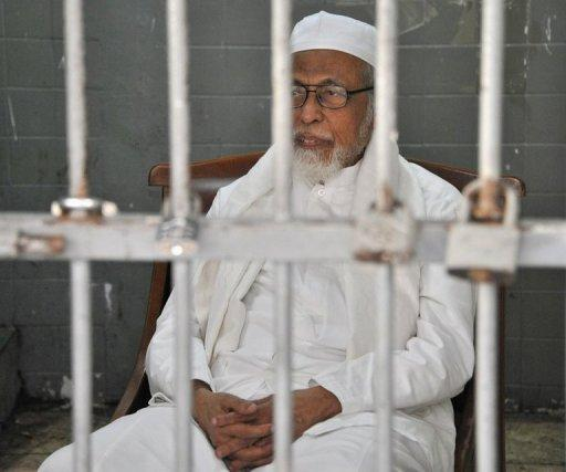 Abu Bakar Bashir is currently serving a 15-year-jail term for funding terror in Indonesia