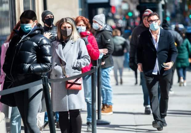 Montreal's public health director, Dr. Mylène Drouin, said Montrealers have been respecting measures, which has helped stall the spread of COVID-19 variants.