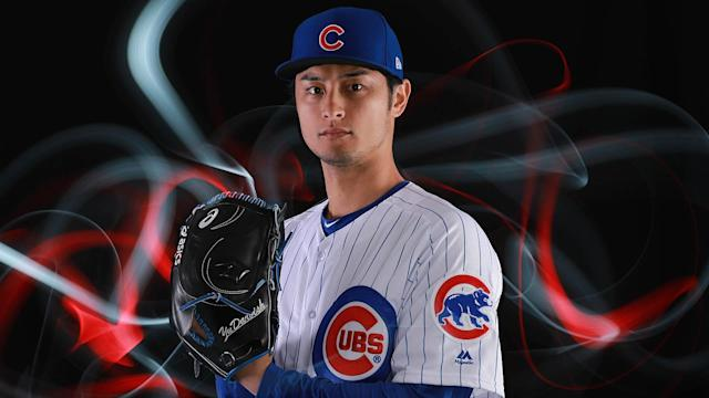 Yu Darvish joins the Cubs this season, as they hope to get to the World Series once again. (Getty Images)