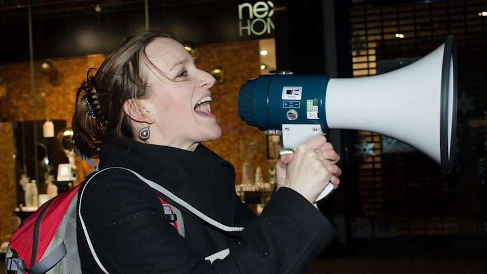 Kate Smurthwaite considered teaching mathematics to earn money
