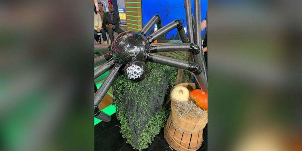 PHOTO: DIY this Not So Itsy Bitsy Spider from Brit Morin, the founder and CEO of Brit + Co. (ABC)