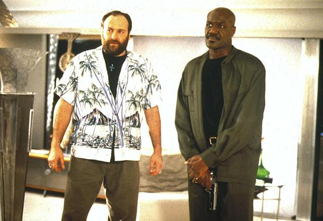 Mandatory Credit: Photo by Moviestore Collection/Rex / Rex USA (941279a) Get Shorty, James Gandolfini, Delroy Lindo Film and Television
