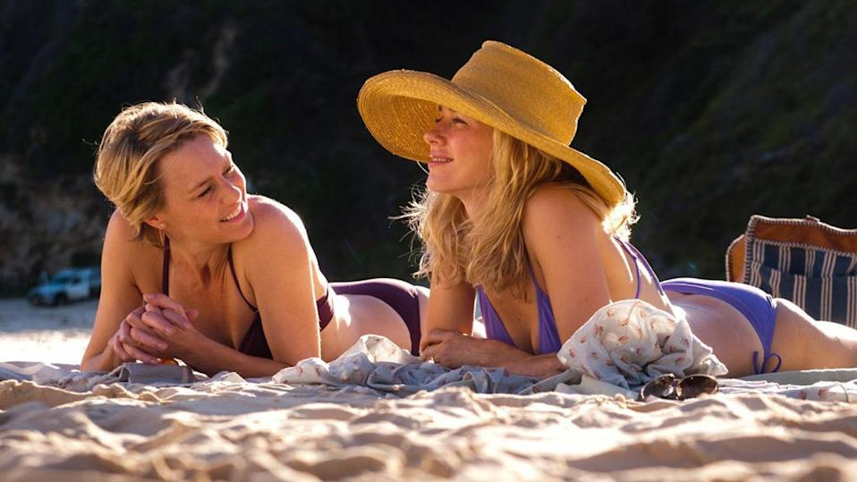 <strong><em><h3>Adore </h3></em></strong><h3>(2013)<br></h3><br>Robyn Wright and Naomi Watts' characters grow up in idyll on the Australian coast. When they grow up, they raise their beautiful sons in adjacent beautiful homes. Everything is beautiful and nothing hurts.<br><br>And then, the women start sleeping with each others' sons. Still beautiful? Up to you to decide.