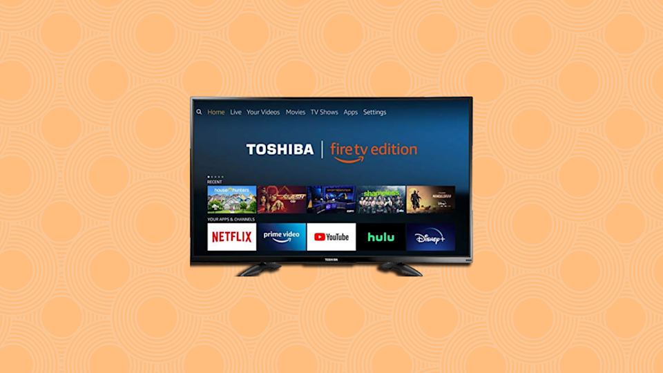 This Fire TV Edition 4K TV is on sale for the Super Bowl! (Photo: Amazon)
