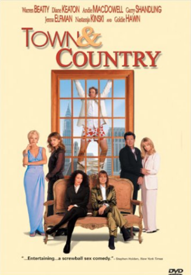 "<p>If you were a fan of <em>The First Wives Club</em>, you wouldn't have expected that another Goldie Hawn and Diane Keaton team up could wind up being a box office flop. Sadly, <em>Town & Country</em> didn't fare well with critics or audiences. The film only brought in $10 million worldwide after being given a <a href=""https://www.boxofficemojo.com/release/rl1702331905/"" rel=""nofollow noopener"" target=""_blank"" data-ylk=""slk:$90 million budget"" class=""link rapid-noclick-resp"">$90 million budget</a>.</p>"