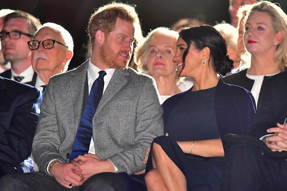 Meghan Markle is four months into her pregnancy. Photo: Getty