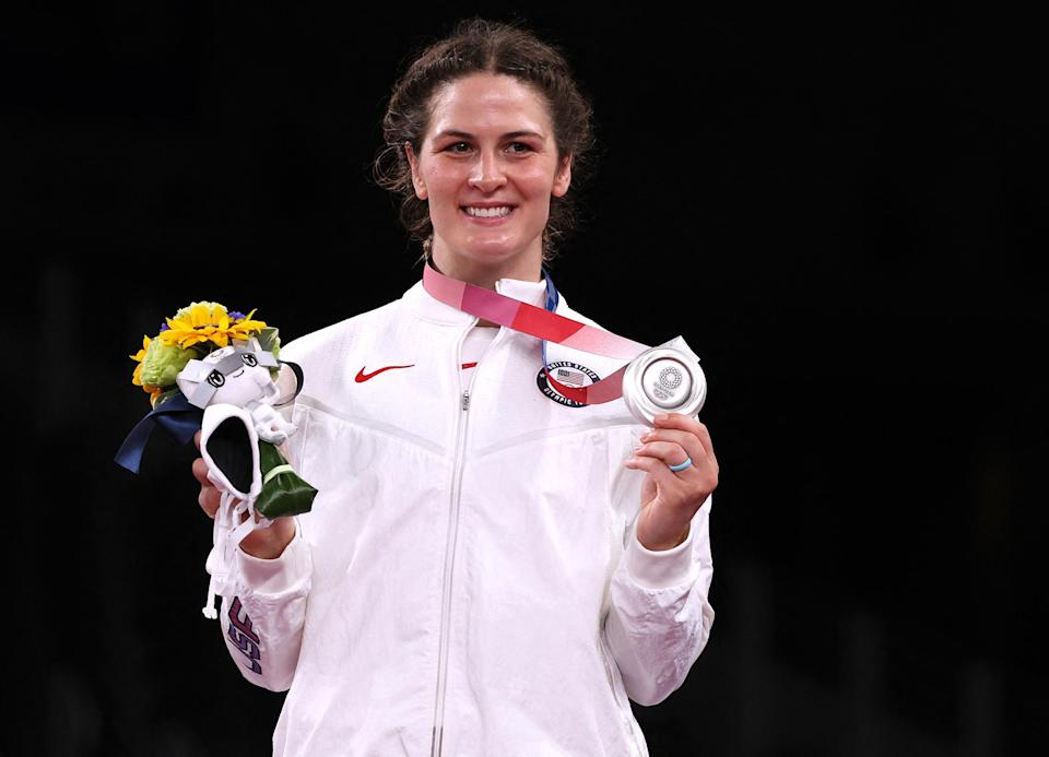 """<p>Biography: 30 years old</p> <p>Event: Women's 76 kg. wrestling</p> <p>Quote: """"I didn't dream big enough. I didn't know I could be a professional athlete in my 30s. I didn't know that I could have a husband and a career and be able to balance those two things at this stage. I really held myself back at a young age because I didn't know these things were possible.""""</p>"""