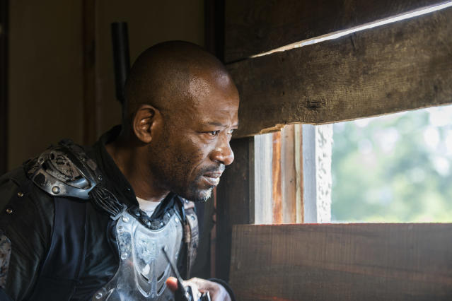 Lennie James as Morgan Jones in <em>The Walking Dead</em> (Photo Credit: Gene Page/AMC)