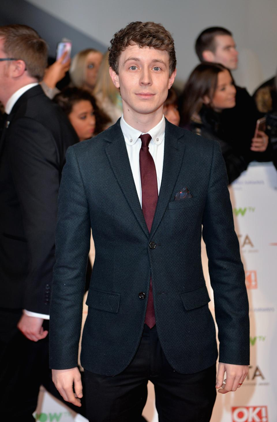 LONDON, ENGLAND - JANUARY 20: Matt Edmondson attends the 21st National Television Awards at The O2 Arena on January 20, 2016 in London, England. (Photo by Anthony Harvey/Getty Images)