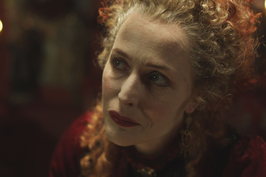 "Gillian Anderson as Mrs. Castaway in ""The Crimson Petal and the White"" on Encore."