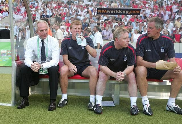 England managers came and went, as Clemence continued his role with the national team