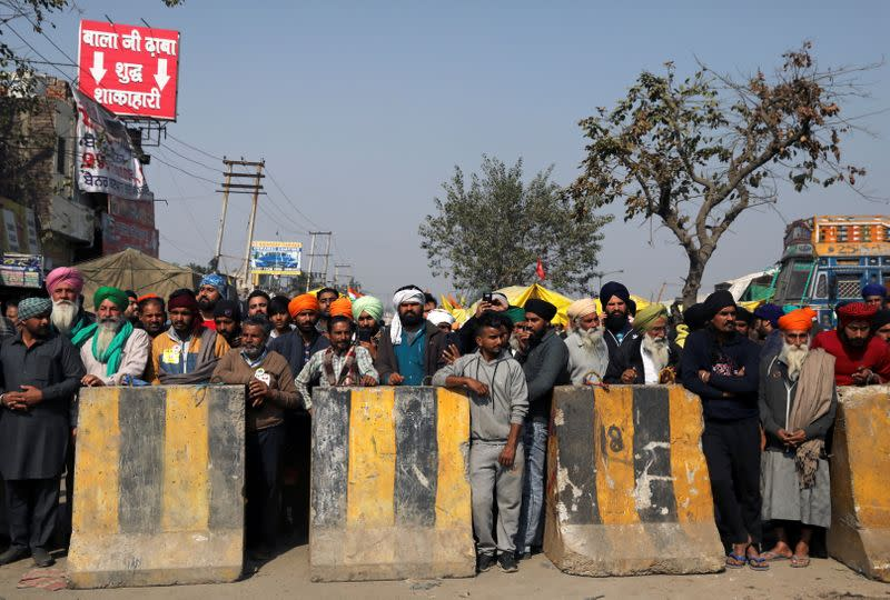 Protest against farm laws in India