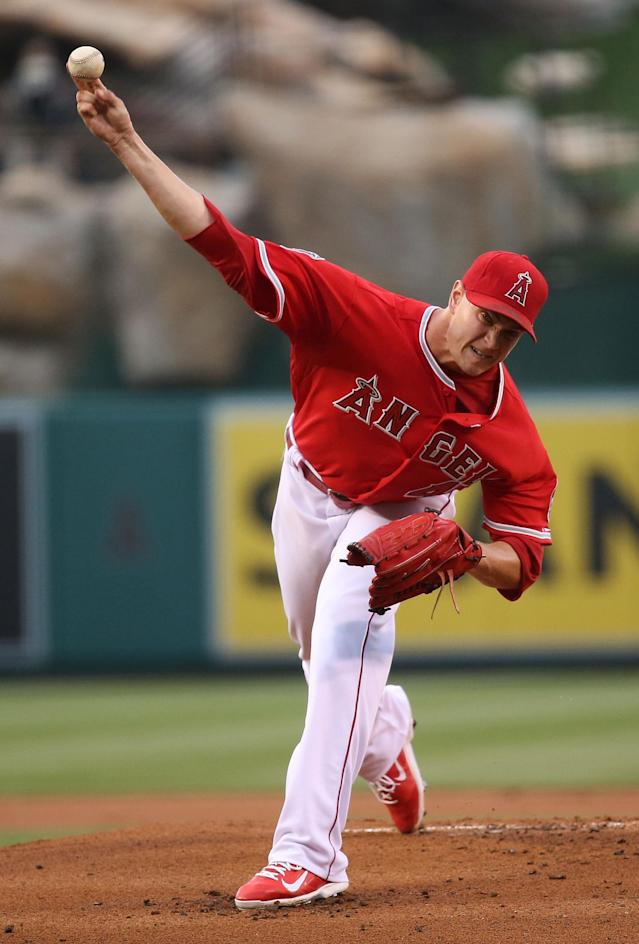 Garrett Richards is 6-2 with a 3.09 ERA this season. (Getty Images)