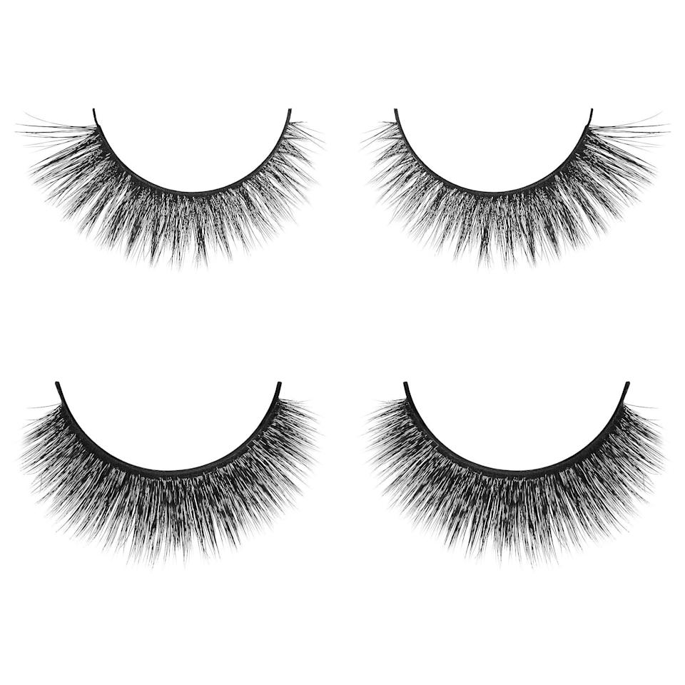 <p>The unique thing about this <span>Velour Lashes Eyeshape Lash Kit</span> ($45) is that each includes options for day and night, all to match your own eye shape (from monolid to hooded). One pair is more natural while the other is virtually 3D, but both are made of cruelty-free, synthetic silk.</p>