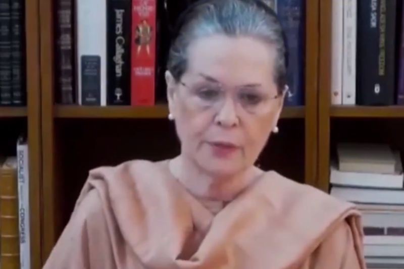 Sonia Gandhi Calls Virtual Meet of Congress Lok Sabha MPs on Saturday