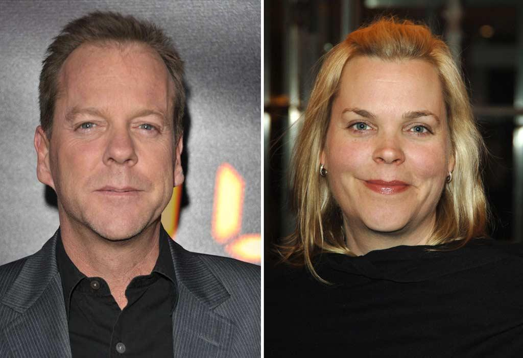 "Notice a family resemblance? ""24"" actor Keifer Sutherland shares a similar smile with twin sister Rachel Sutherland. <a href=""http://www.wireimage.com"" target=""new"">WireImage.com</a>"
