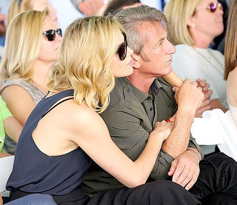Charlize Theron and Sean Penn attend the generationOn West Coast Block Party on April 18.