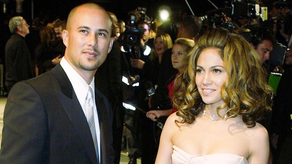 Mandatory Credit: Photo by LAURA RAUCH/AP/REX/Shutterstock (6449366a)JUDD Cris Judd and Jennifer Lopez arrive at the Vanity Fair party following the 74th annual Academy Awards on in Los AngelesOSCARS VANITY, LOS ANGELES, USA.