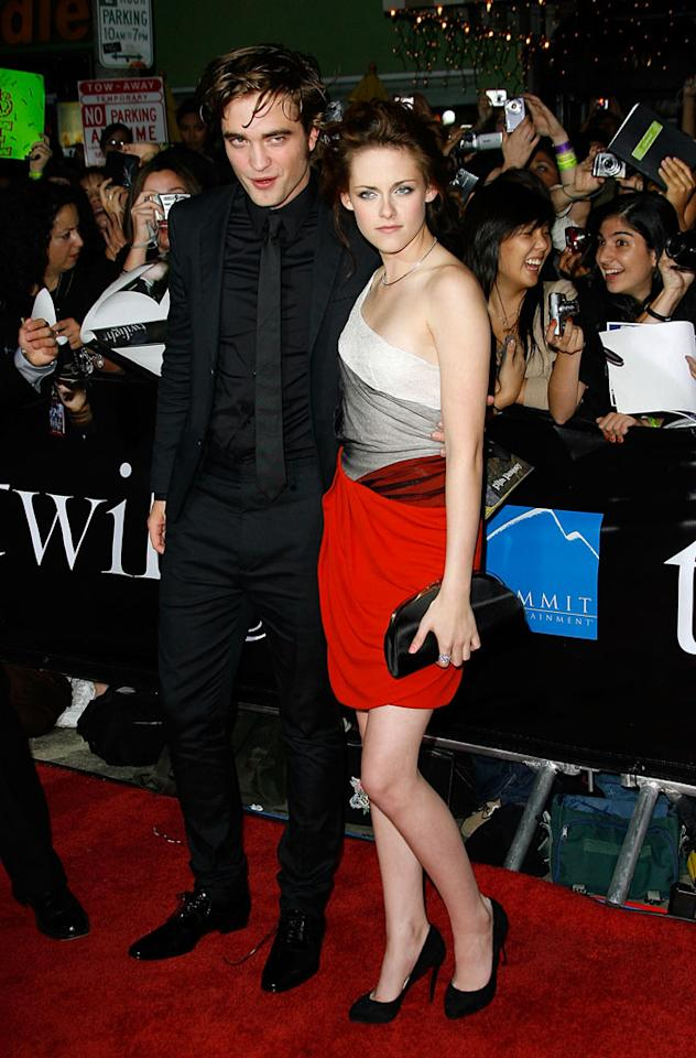"""Twilight"" heartthrob Robert Pattinson -- who says he went ""completely deaf"" from screaming fans at the film's premiere -- is looking forward to some quiet time in December. ""I think I'll go back to London for a bit, and hide out,"" the shy British actor (pictured with costar Kristen Stewart) told Us Weekly. Vince Bucci/<a href=""http://www.gettyimages.com/"" target=""new"">GettyImages.com</a> - November 17, 2008"