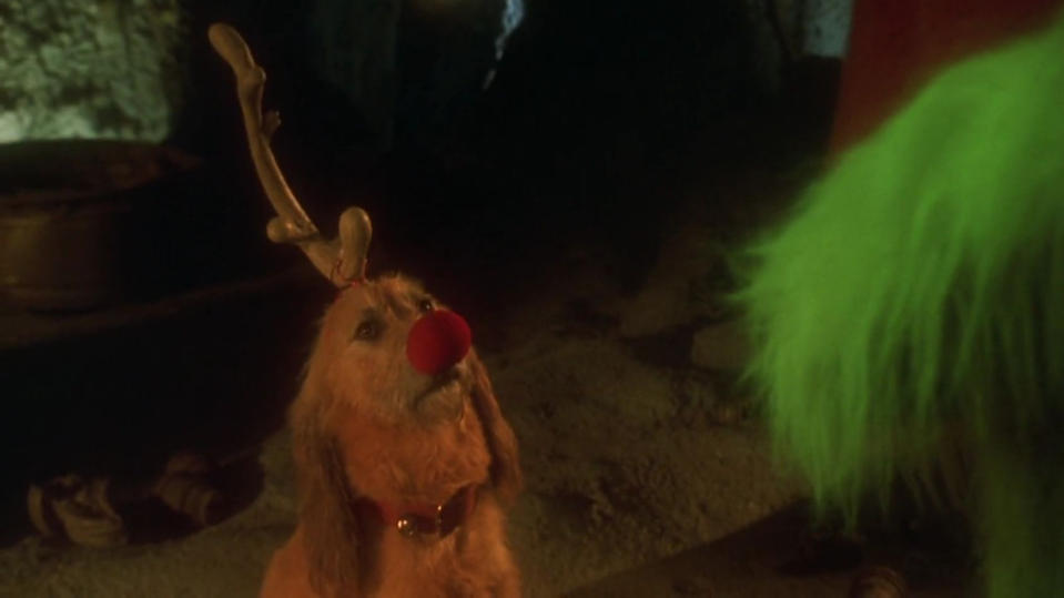 Max dons his best reindeer disguise in 'The Grinch', (Credit: Universal)