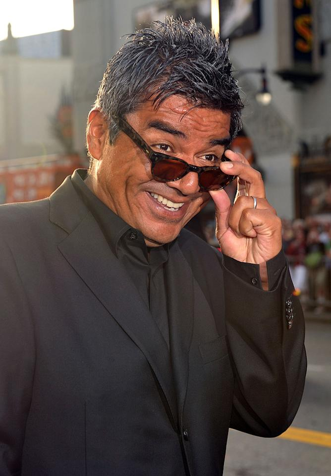 """<a href=""""http://movies.yahoo.com/movie/contributor/1802477849"""">George Lopez</a> at the Los Angeles premiere of <a href=""""http://movies.yahoo.com/movie/1810012112/info"""">The Proposal</a> - 06/01/2009"""