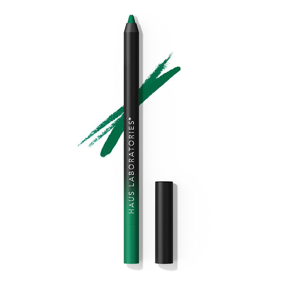 """<p>With 20 unique shades in matte and glitter finishes, Lady Gaga's latest creation is designed to turn heads. The <a href=""""https://www.allure.com/story/lady-gaga-haus-laboratories-eye-dentify-gel-pencil-eyeliner-review?mbid=synd_yahoo_rss"""" rel=""""nofollow noopener"""" target=""""_blank"""" data-ylk=""""slk:Eye-Dentify Gel Pencil Eyeliner"""" class=""""link rapid-noclick-resp"""">Eye-Dentify Gel Pencil Eyeliner</a> doesn't just boast a pretty color selection — this budge-proof formula delivers one-swipe pigment that could last a zombie apocalypse. </p> <p><strong>$18</strong> (<a href=""""https://www.amazon.com/stores/page/E4F7E6F3-0B34-4428-81B0-6D98088568CB"""" rel=""""nofollow noopener"""" target=""""_blank"""" data-ylk=""""slk:Available August 4"""" class=""""link rapid-noclick-resp"""">Available August 4</a>)</p>"""