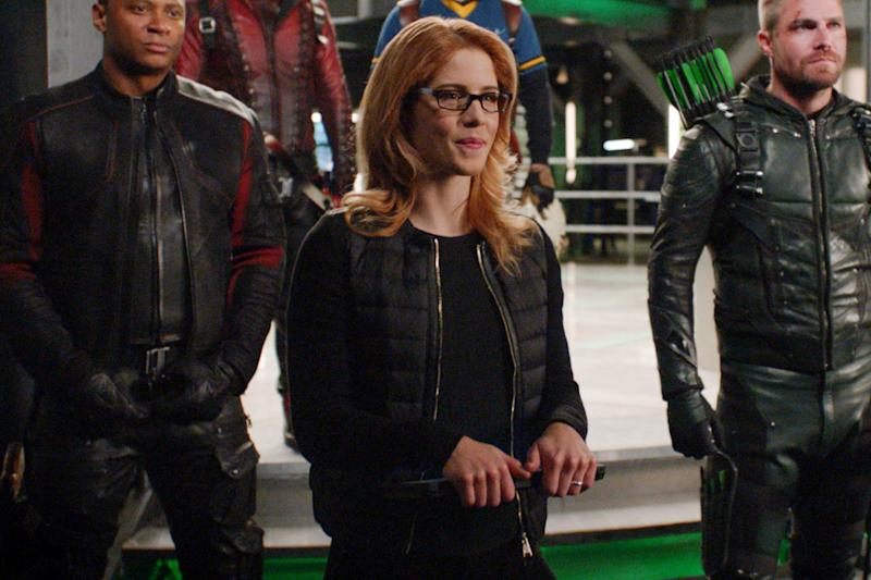 How theArrowfinale said goodbye to Emily Bett Rickards' Felicity, teased 'Crisis on Infinite Earths'
